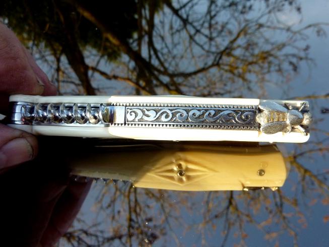 couteau d`art laguiole 5 pieces